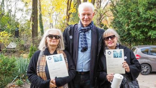 Kwesta na cmentarzu - listopad 2018-19