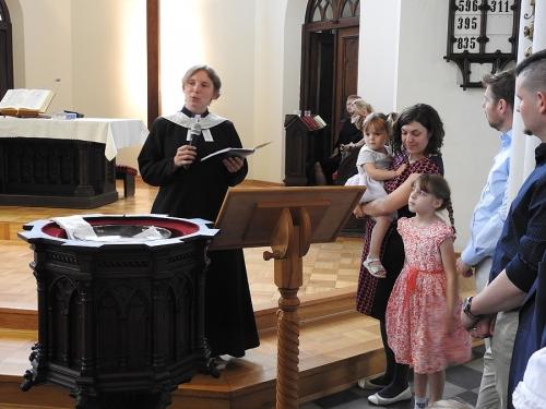 Nabożeństwo z chrztem 23 czerwca 2019 r. Prowadzą ks. Julia Meason i Marta Borkowska-3
