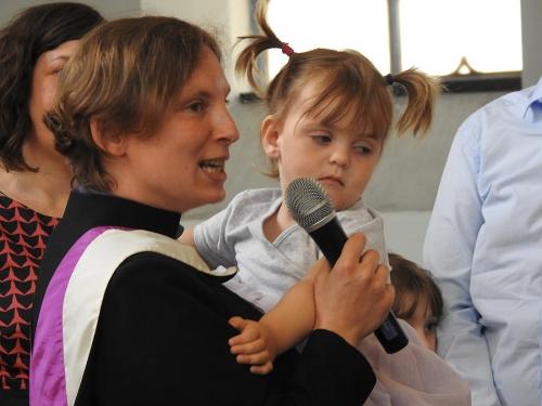 Nabożeństwo z chrztem 23 czerwca 2019 r. Prowadzą ks. Julia Meason i Marta Borkowska-6