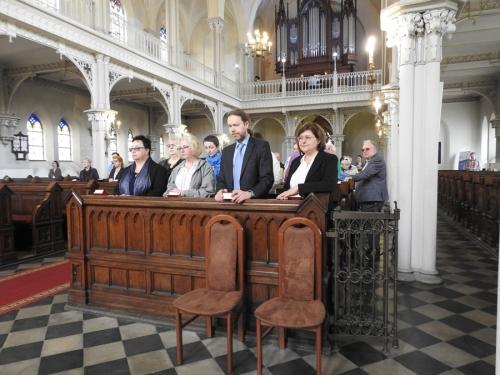 Wprowadzenie w urząd nowego Kolegium Kościelnego-1