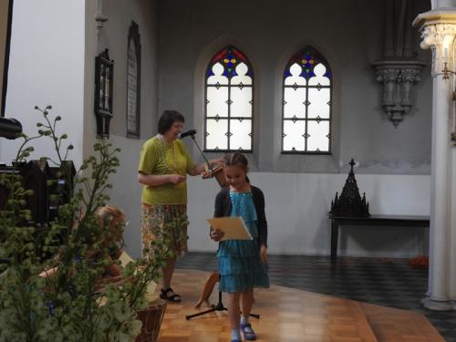 Zakończenie Roku Szkolnego Szkoły Parafialnej i chrzest dwojga dzieci - 17.06.2018 r.-16